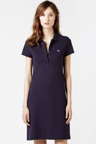 c5efa6516747 Lacoste Short Sleeve Stretch Pique Classic Polo Dress : Dresses ...