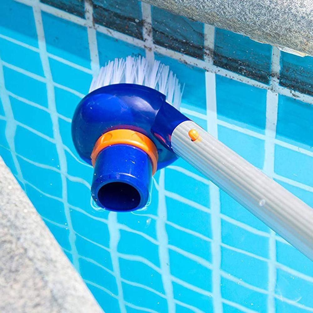 Small Suction Head Brush For Swimming Pool Brushes Suction Vacuum Machine Cleaning Accessories Pool Brushes Pool Cleaning Swimming Pool Cleaning