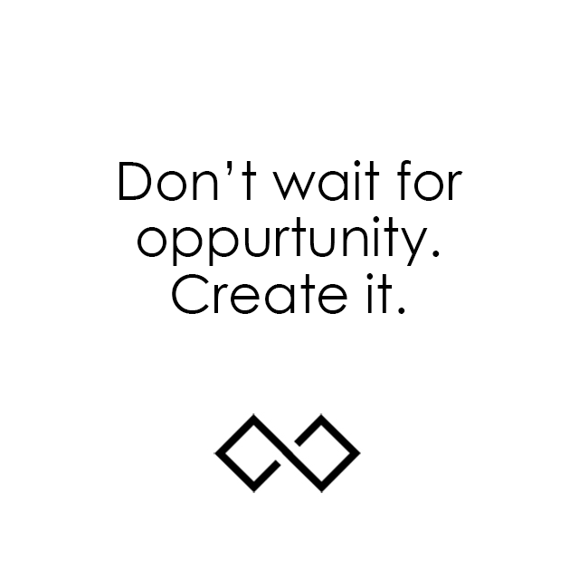 Don't wait for opportunity. Create it. Click the pic if you're ready to create some opportunities for your small business! @SStreetCo