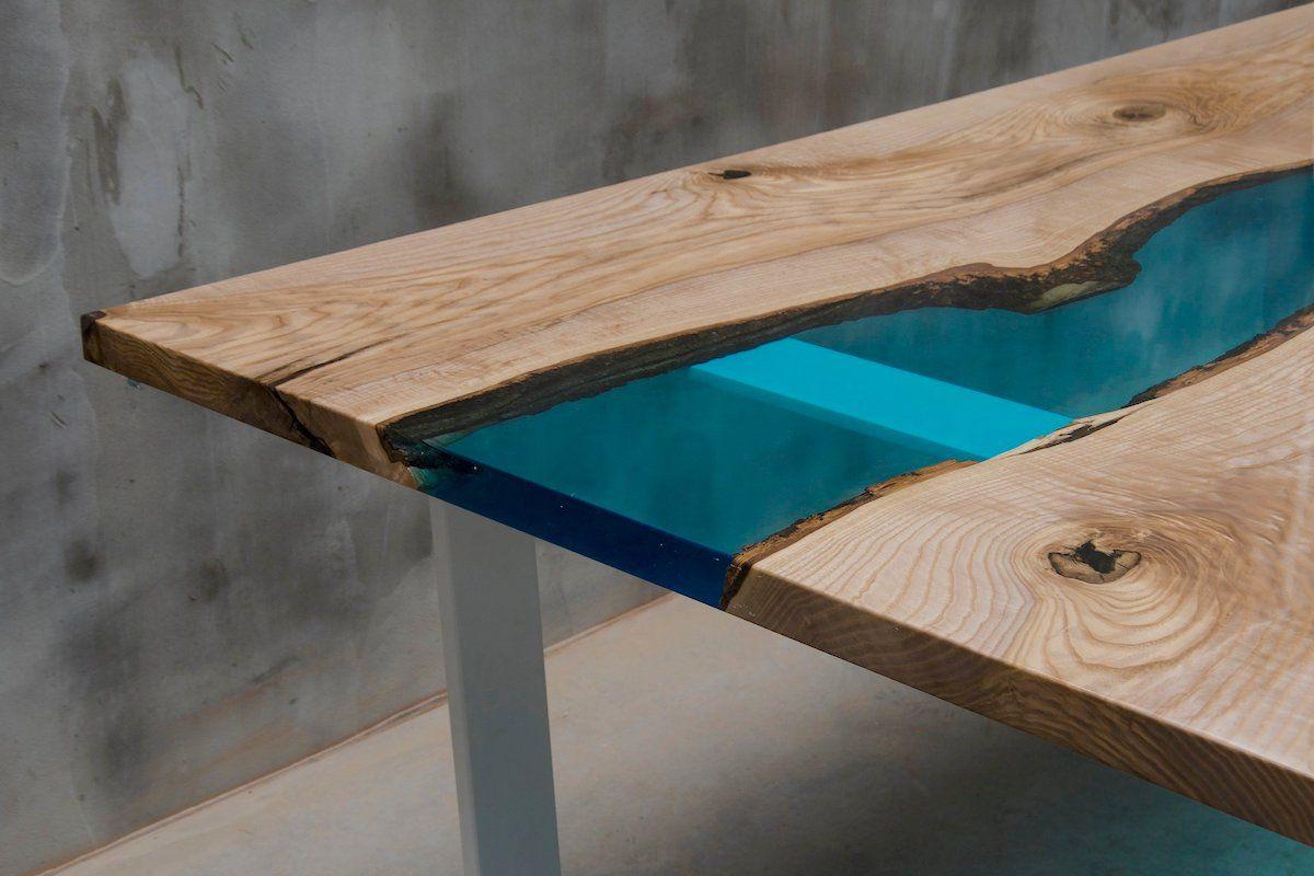 Bearbeiten Epoxidharz Ist Eine Einfache Und Schnelle Moglichkeit Ihren Tisch Ihren Tresen Oder Ihre Arbeitsplatte Z Harztisch Holztisch Epoxidharz Harz Mobel
