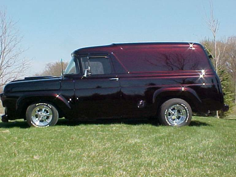 1957 Ford F100 Panel Truck For Sale In New Holstein Wisconsin