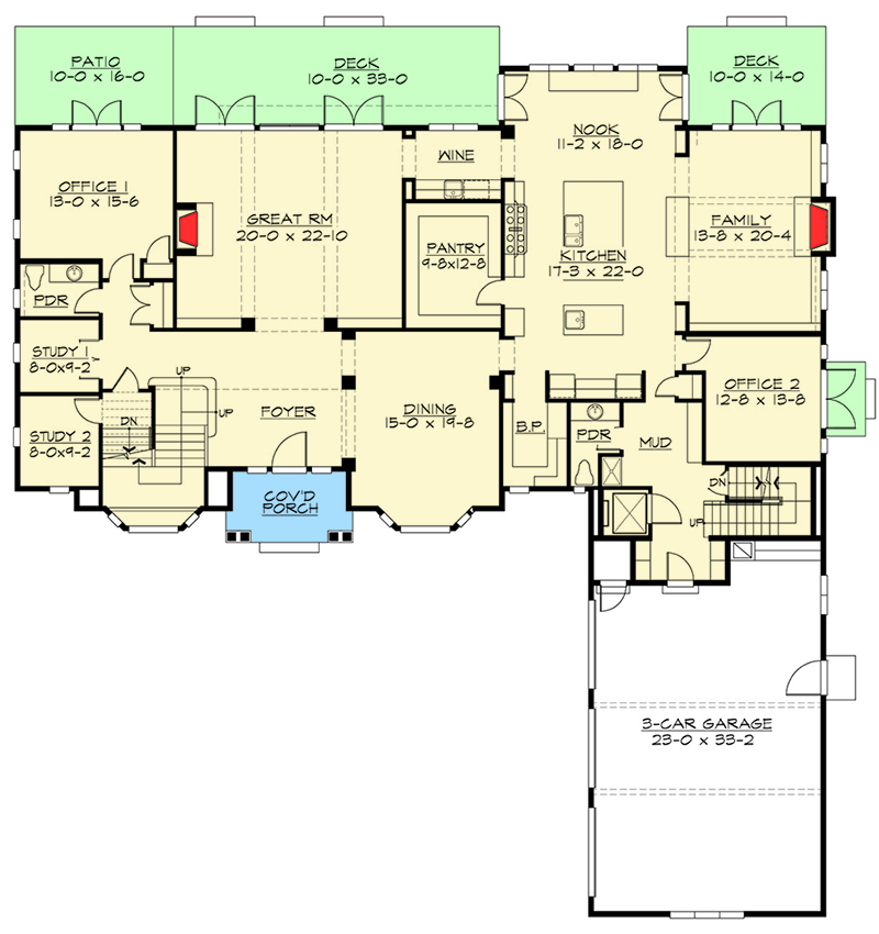 Plan 23647jd Tradition At Its Finest Floor Plans House Floor Plans Colonial House