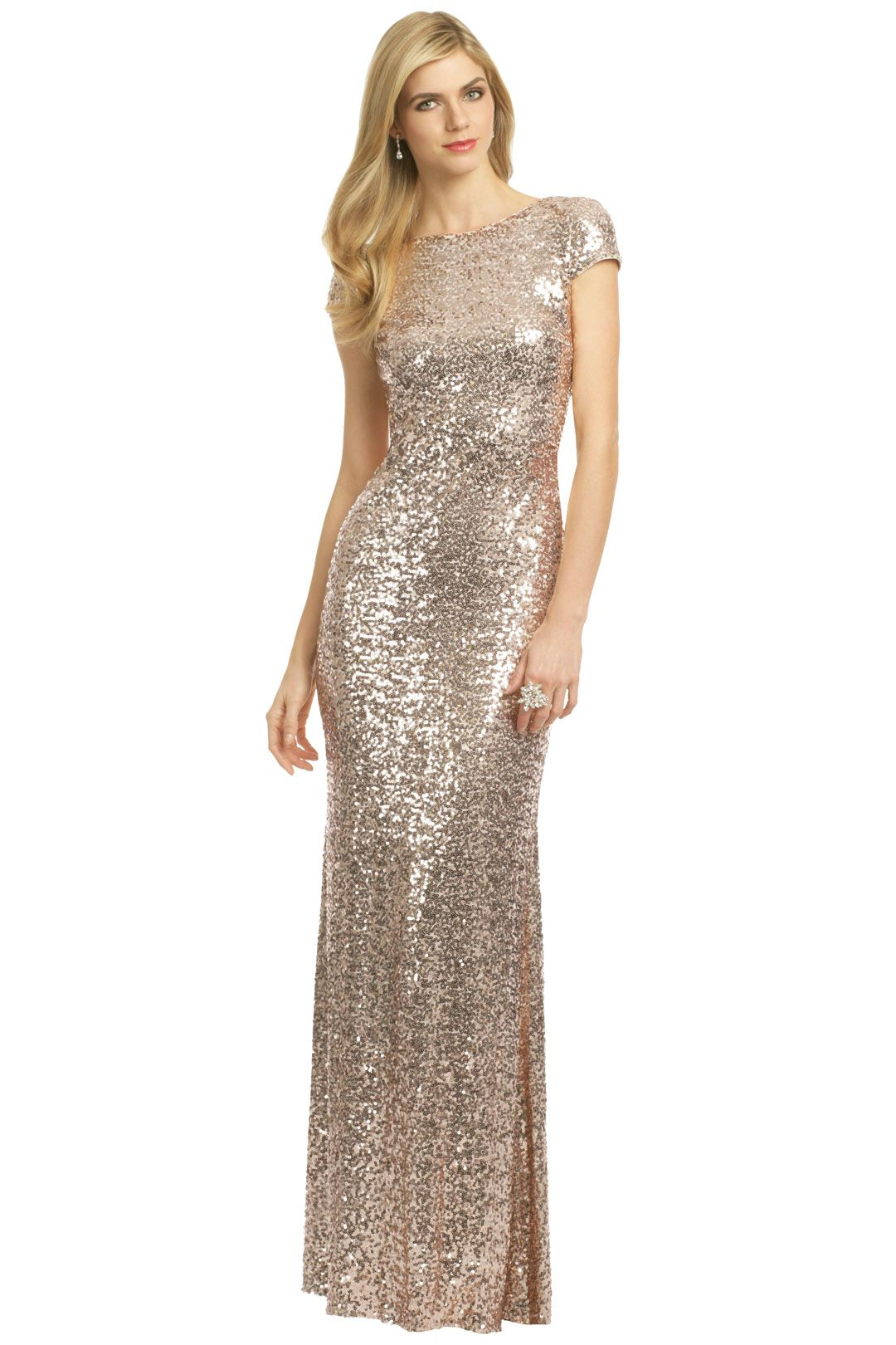 Channel old hollywood glam with a floor length gown from lauren badgley mischka award winner gown rent the runway ombrellifo Images