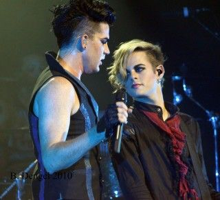 Adam Lambert And Tommy Joe Ratliff Adam Lambert Guys American Idol