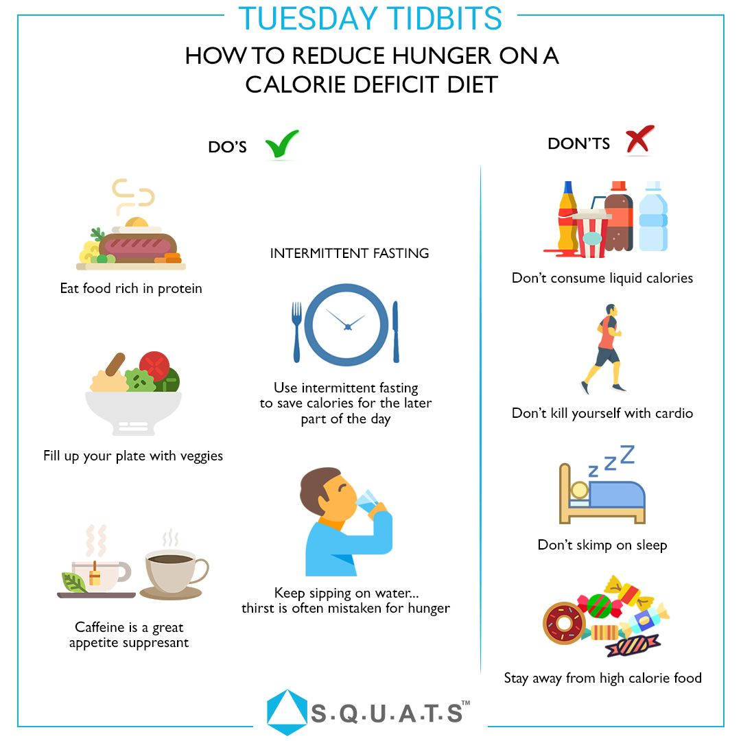 what if hungry during diet