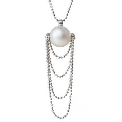 Lovely 1920s Ritzy Pendant made from ethical, carbon neutral pearls x