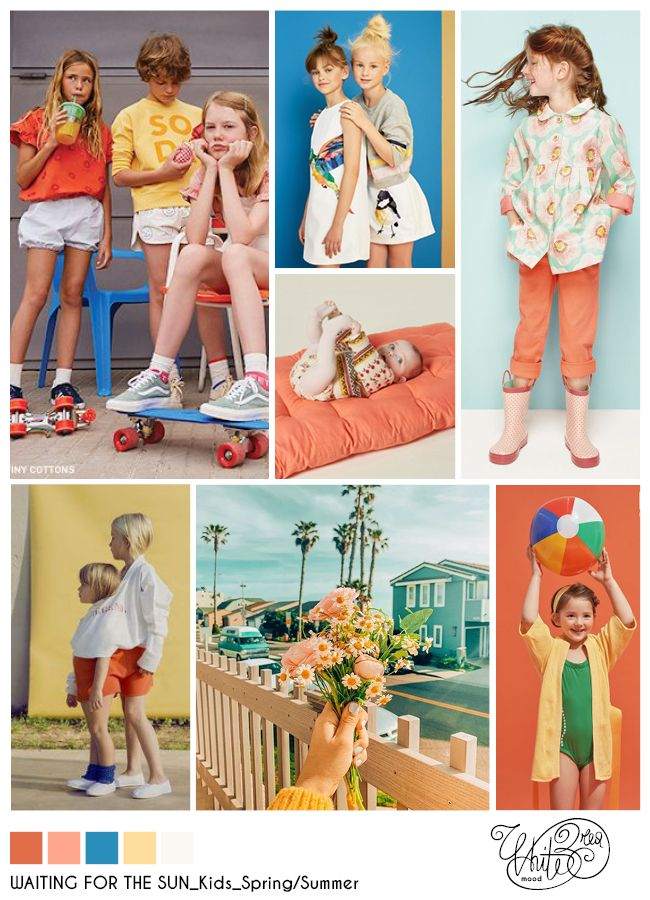 Whitebread mood: WAITING FOR THE SUN #SS, #SpringSummer, #Kids, #FashionKids, #Girl, #FashionGirl, #Mood, #Moodboard