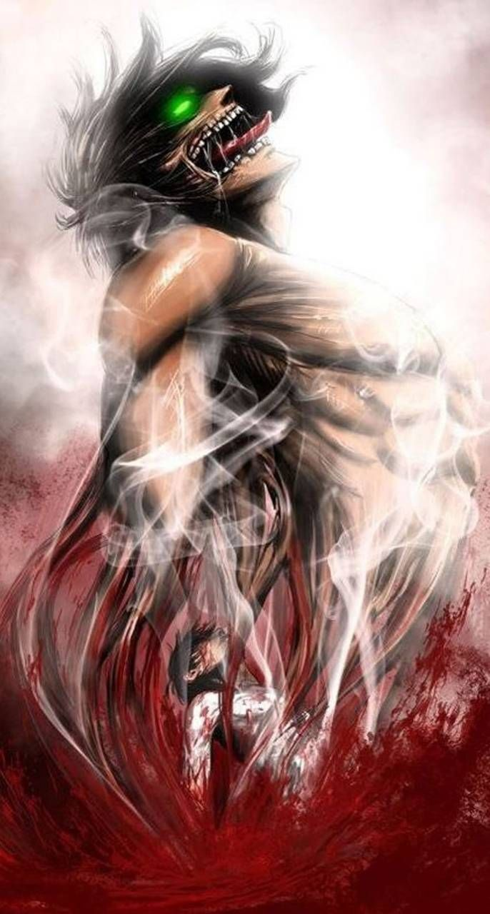 Eren titan wallpaper by JanPau - d2 - Free on ZEDGE™