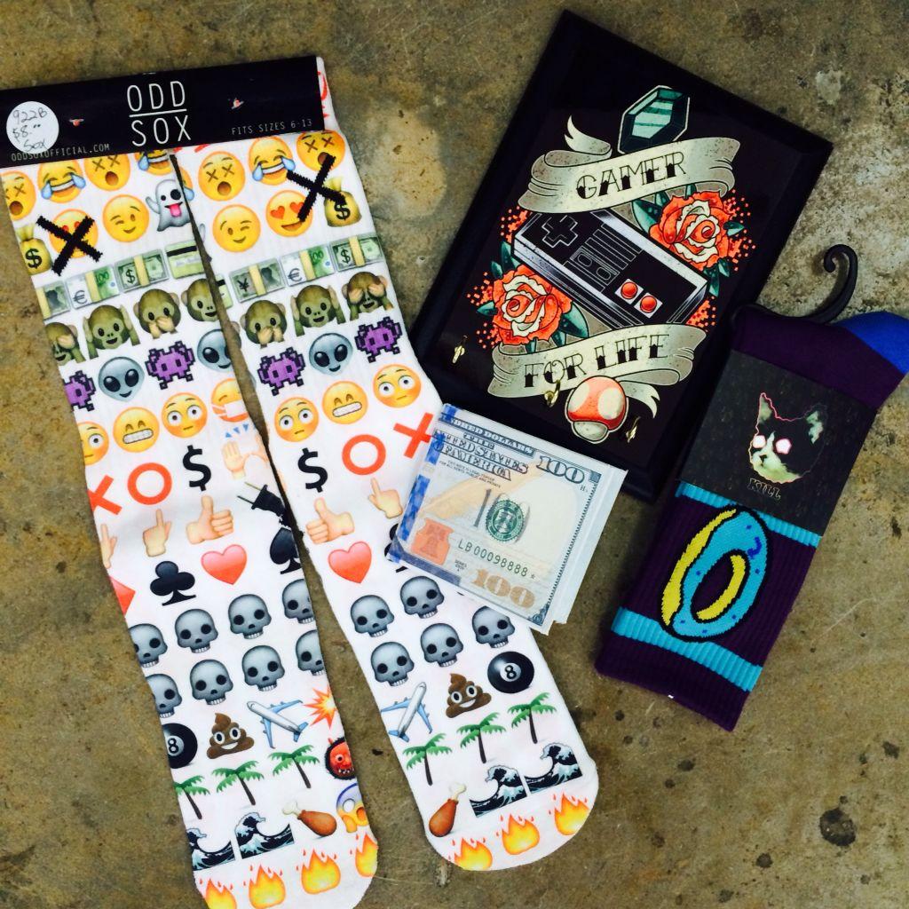 Nerdtyme Socks And Wallets Crazy Socks Socks Wallet
