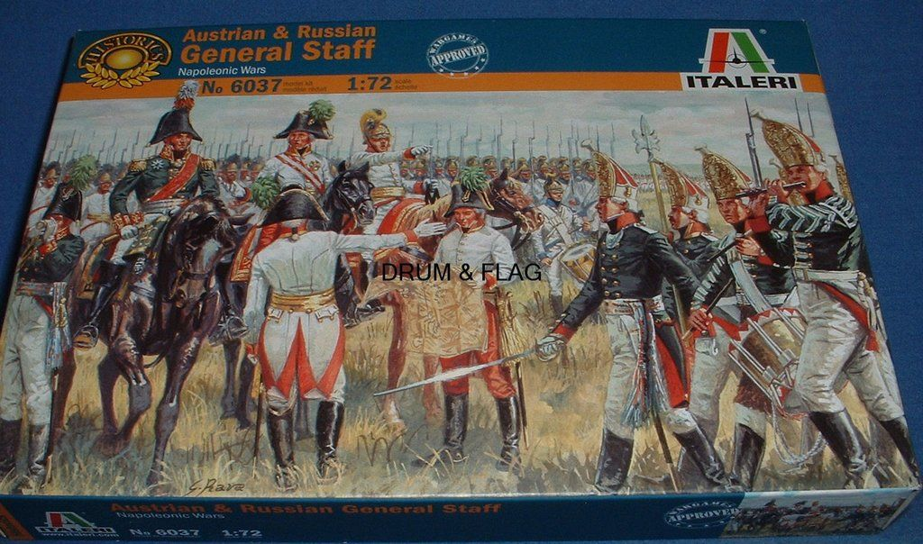 1:72 Italeri 6016 French Imperial General Staff
