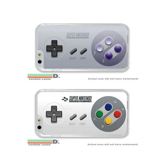 SNES Controller Custom Phone Case for iPhone 4/4s by DsCustomCases