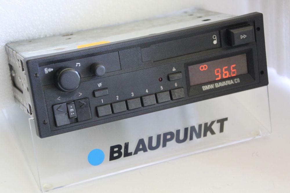 Bmw Bavaria Cii Tape Cassette Radio E28 E30 E31 E32 7649455040 Optional Upgrades Blaupunkt Radio Car Radio Bmw