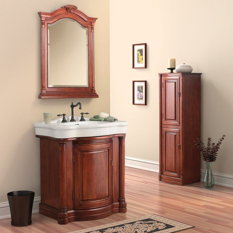 Foremost Wingate 31-in Single Bathroom Vanity with China Top