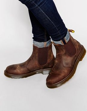 24f607be3 Dr Martens 2976 Chelsea Boots | Fashion in 2019 | Boots, Chelsea ...