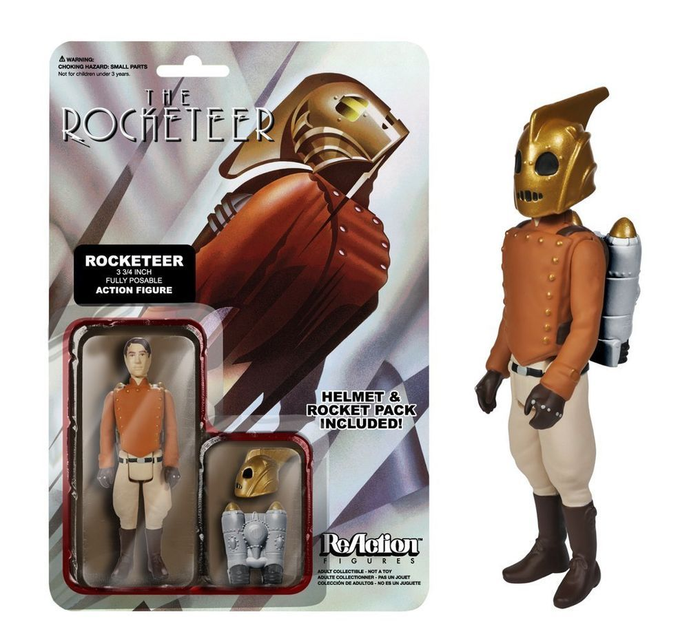 Funko ReAction THE ROCKETEER Kenner Retro Action Figure