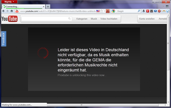 ProxTube Unblock YouTube 1.4.7 app ProxTube Unblock