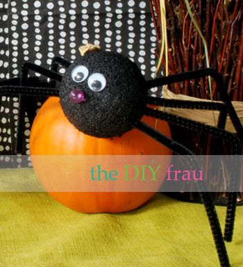Halloween Spider Craft Spider Crafts Crafts Halloween Spider