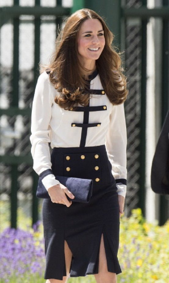 Catherine, Duchess of Cambridge during an official visit to Bletchley Park, 18.06.2014 in Bletchley, England.
