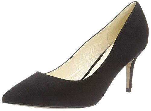 Buffalo London 11877 305 KID, Damen Pumps, Schwarz (BLACK 01