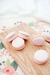 Pink Macarons from Jordan Brittley