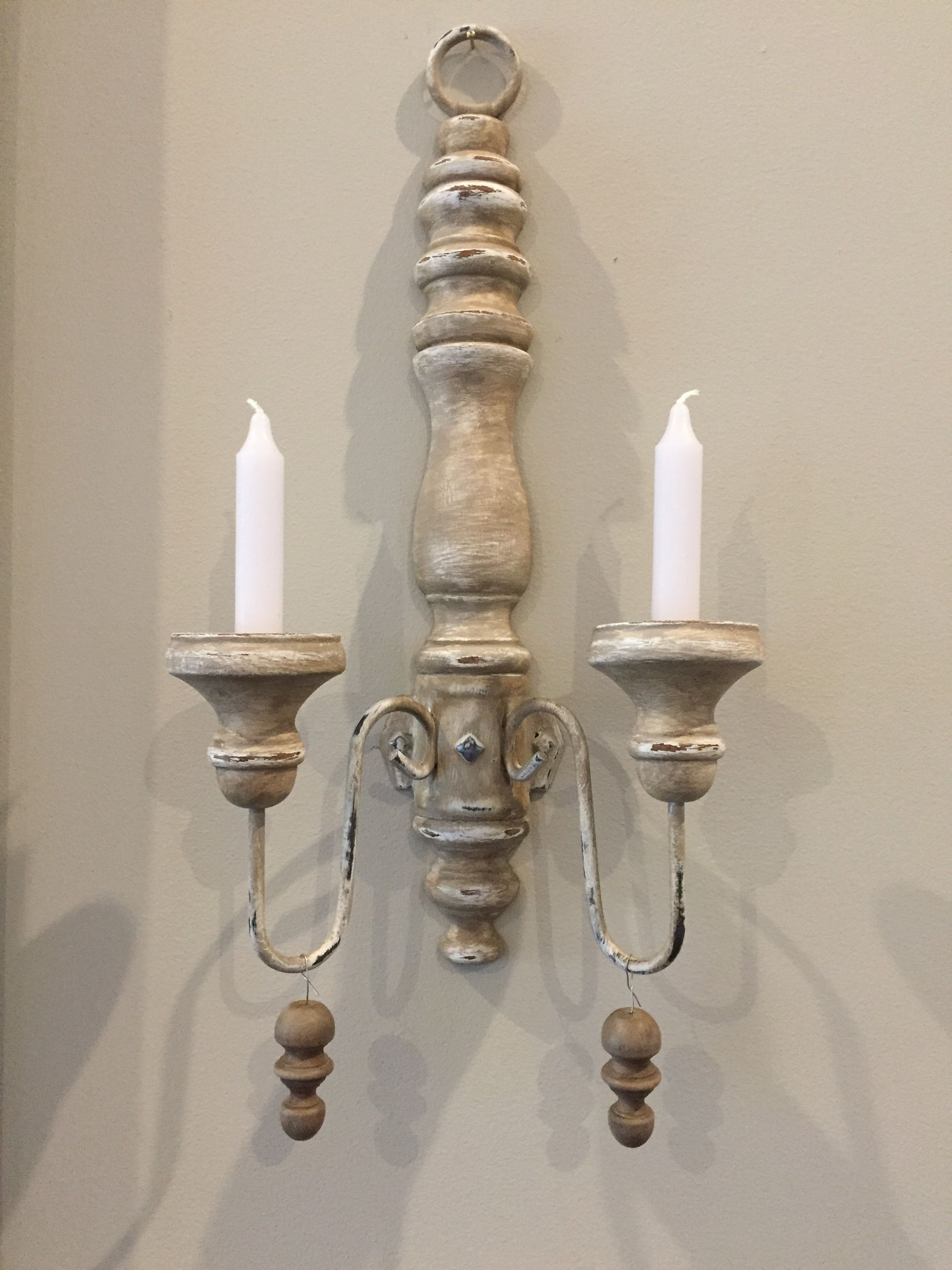 French Inspired Candle Wall Sconce Diy D E C O R A C C E