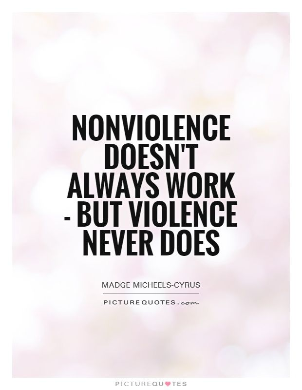 Image result for nonviolence quotes