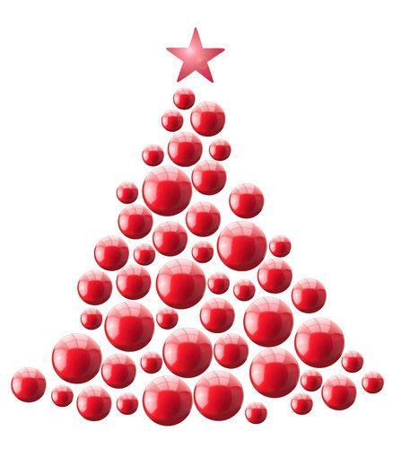 Arbol de navidad con bolas grandes y peque as buscar con - Bolas navidad gigantes ...