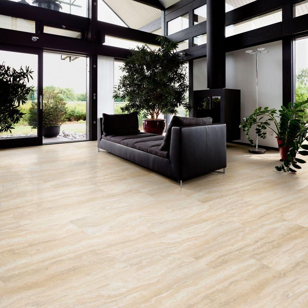 Trafficmaster allure ultra aegean travertine natural 12 in x trafficmaster allure ultra aegean travertine natural 12 in x 2382 in resilient vinyl tile flooring with simplefit end joint 198 sq ft case dailygadgetfo Gallery