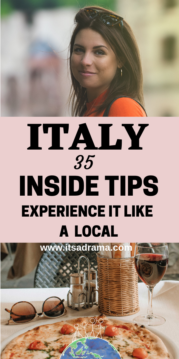 Italy travel tips so that you Italy vacation can be experienced on a budget but like a local! Follow this insider guide on what to wear, places to visit & unique things to do in Italy. How to see Rome for free and more! #italy #italytravel #italyvacation #italytrip