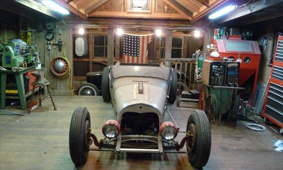 Old School Garage Style Garage Design Dream Garage