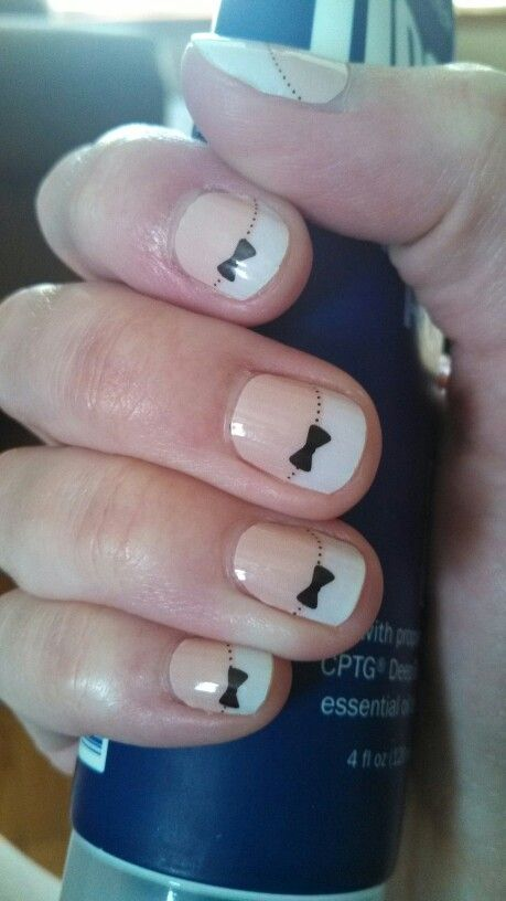 French Tip Bows. www.tanyamoe.jamberrynails.net | Jamberry Nails ...