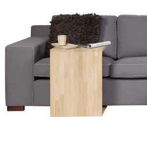 Bout de canap en h tre naturel sofa bout de canap for Canape yam but