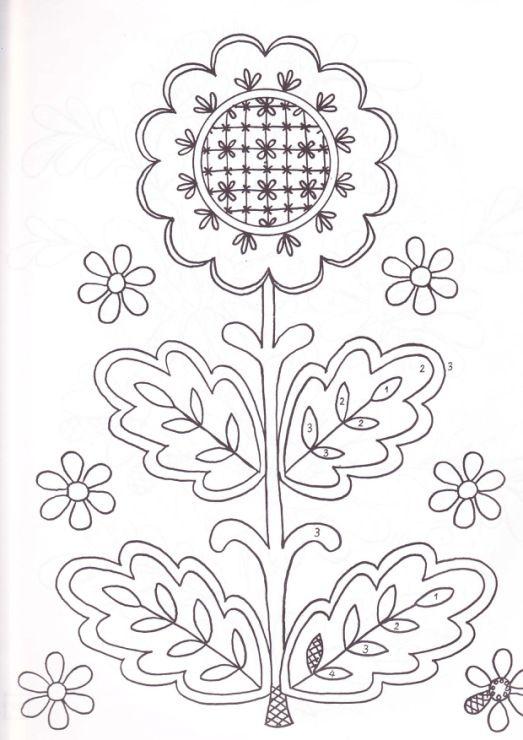 flower stitchery | flores patrones | Pinterest | Bordado, Patrones y ...