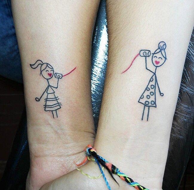 50 esempi di tatuaggi per amici del cuore | Tatuaggi di ...