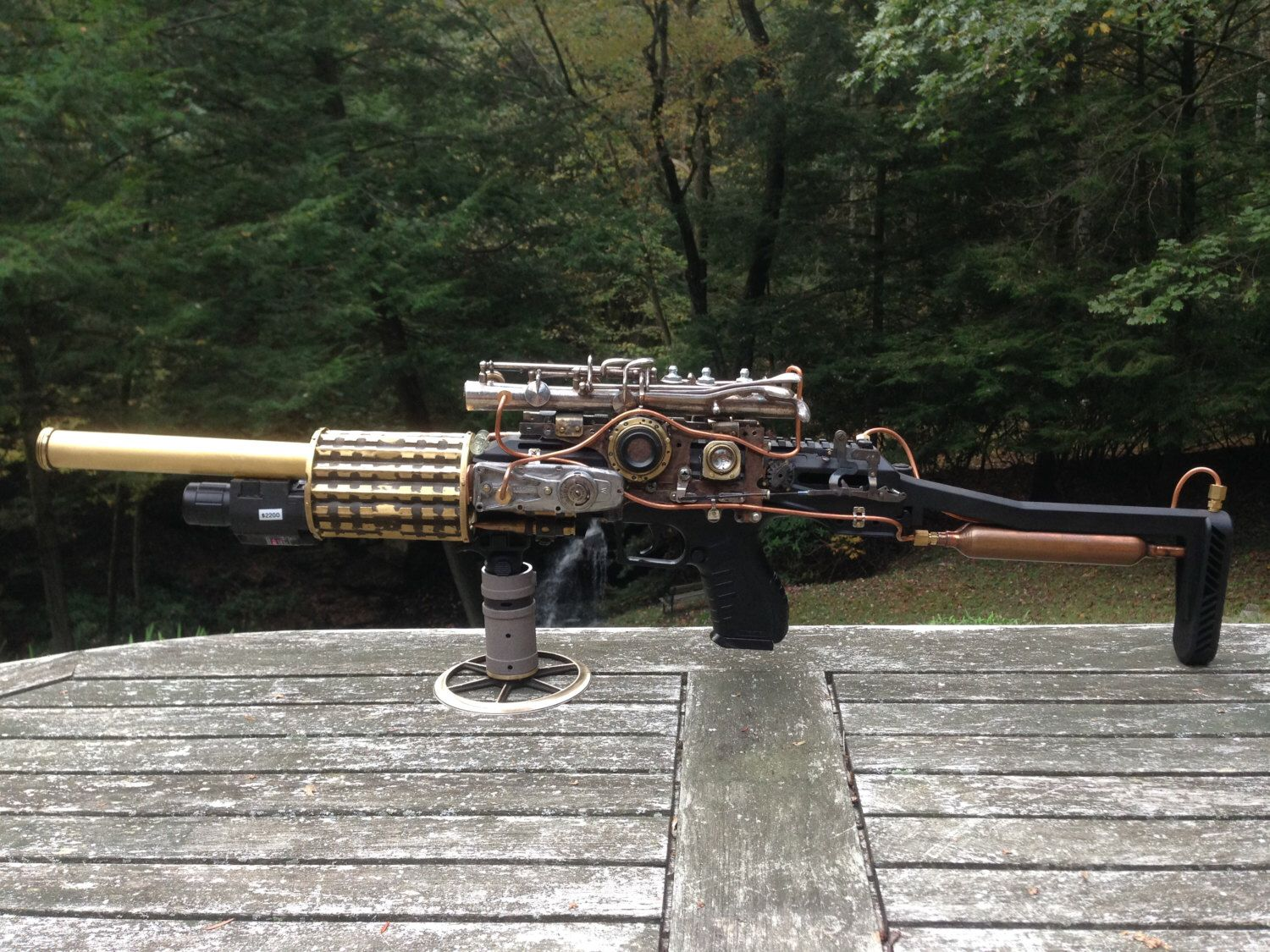 Pin on Steampunk Guns