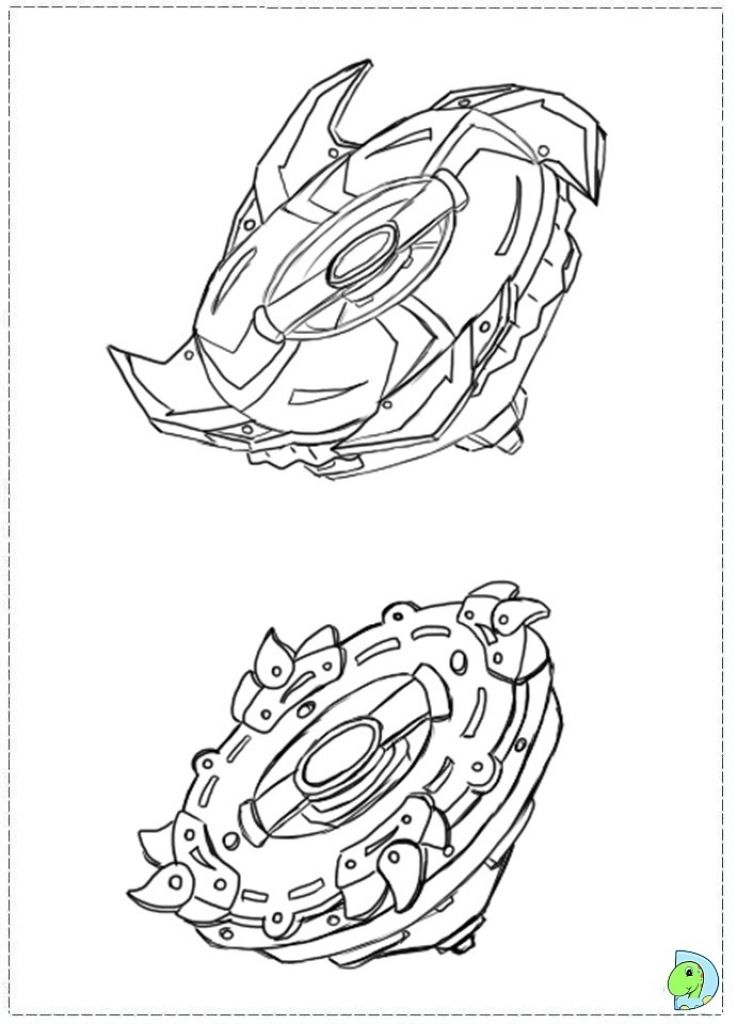 pegasus beyblade colouring pages for boys