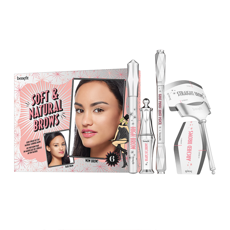 Benefit Soft & Natural Brows Kit #naturalbrows Natural-brow stunner! Get natural-looking brow definition with this goof-proof kit. Benefit Soft & Natural Brows Kit comes fully equipped with everything you need to fill,... #naturalbrows