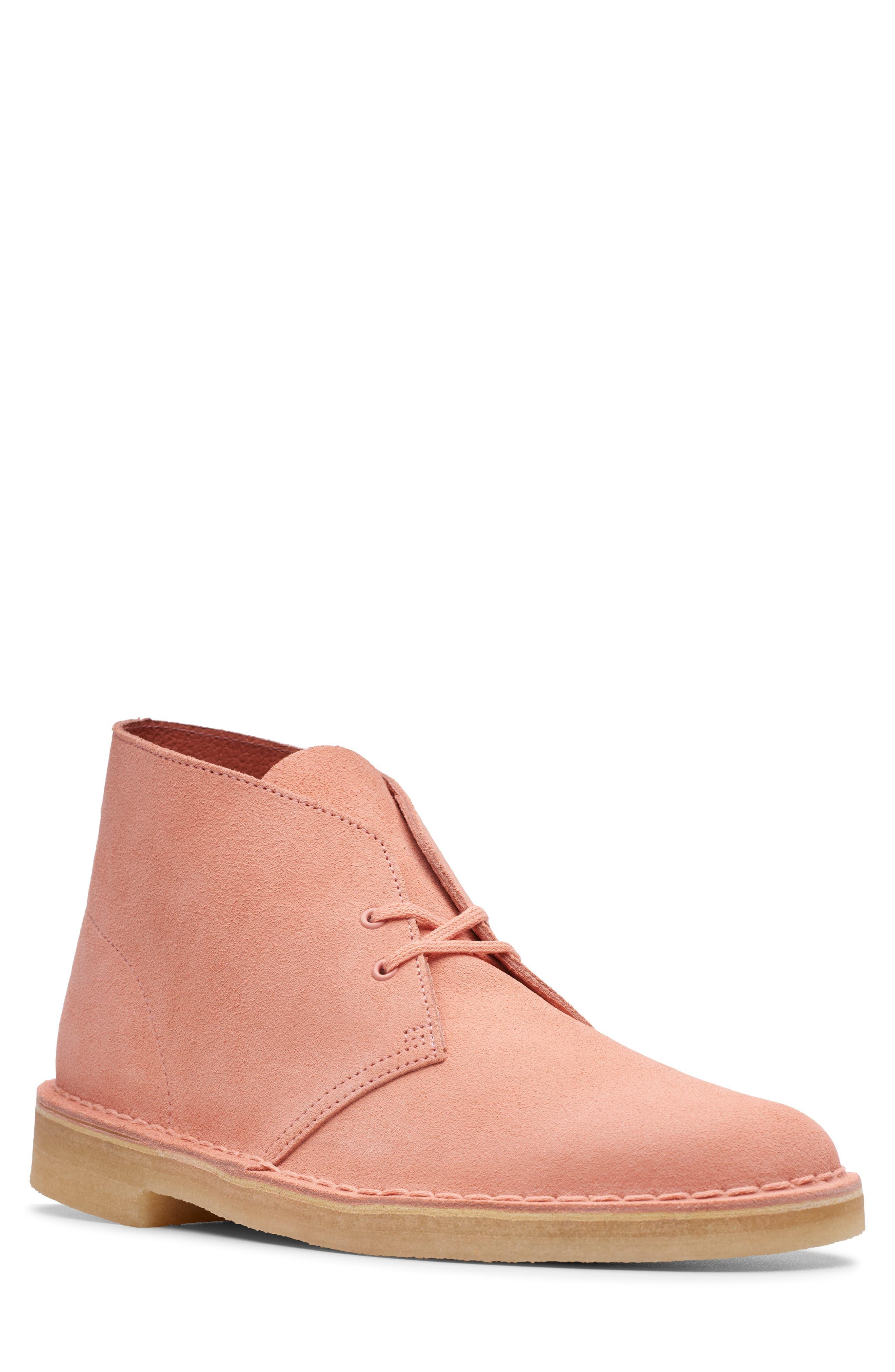Calificación Nabo Palabra  Men's Clarks Originals 'Desert' Boot, Size 7 M - Pink | Desert boots, Clarks  desert boot, Boots