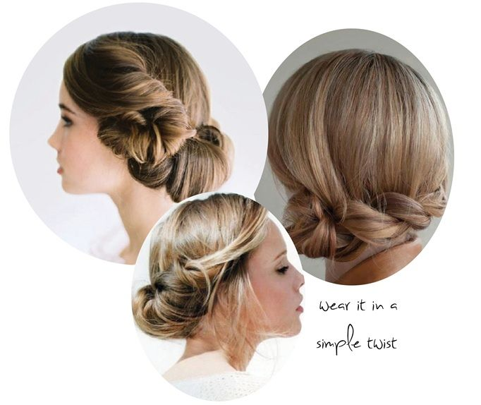 Simple Hairstyles For Weddings To Do Yourself: Http://sweetvioletbride.com/2012/12