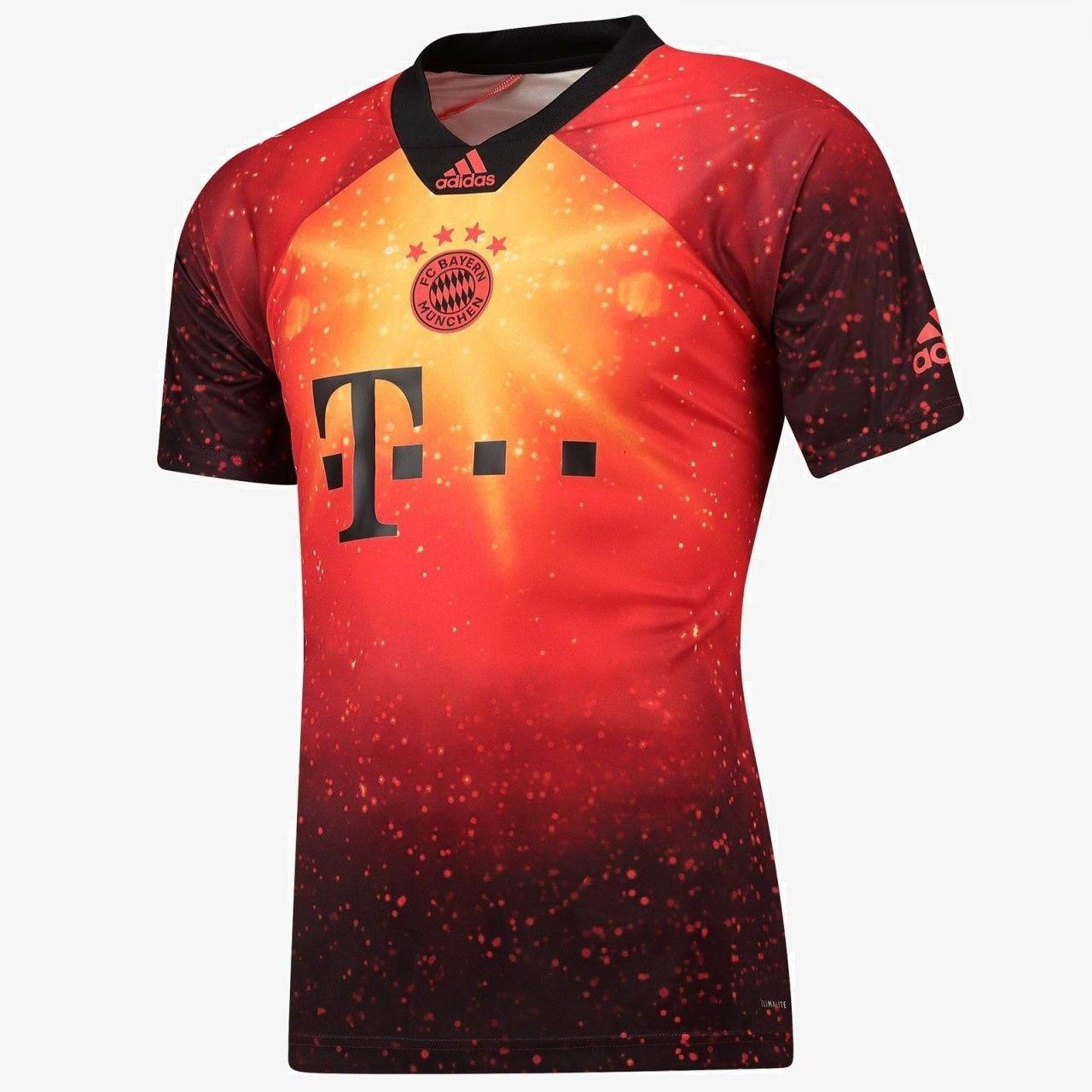 8ab5d50523ee9 Bayern 18/19 fourth | Shivanil | Uniformes futebol, Camisas de ...