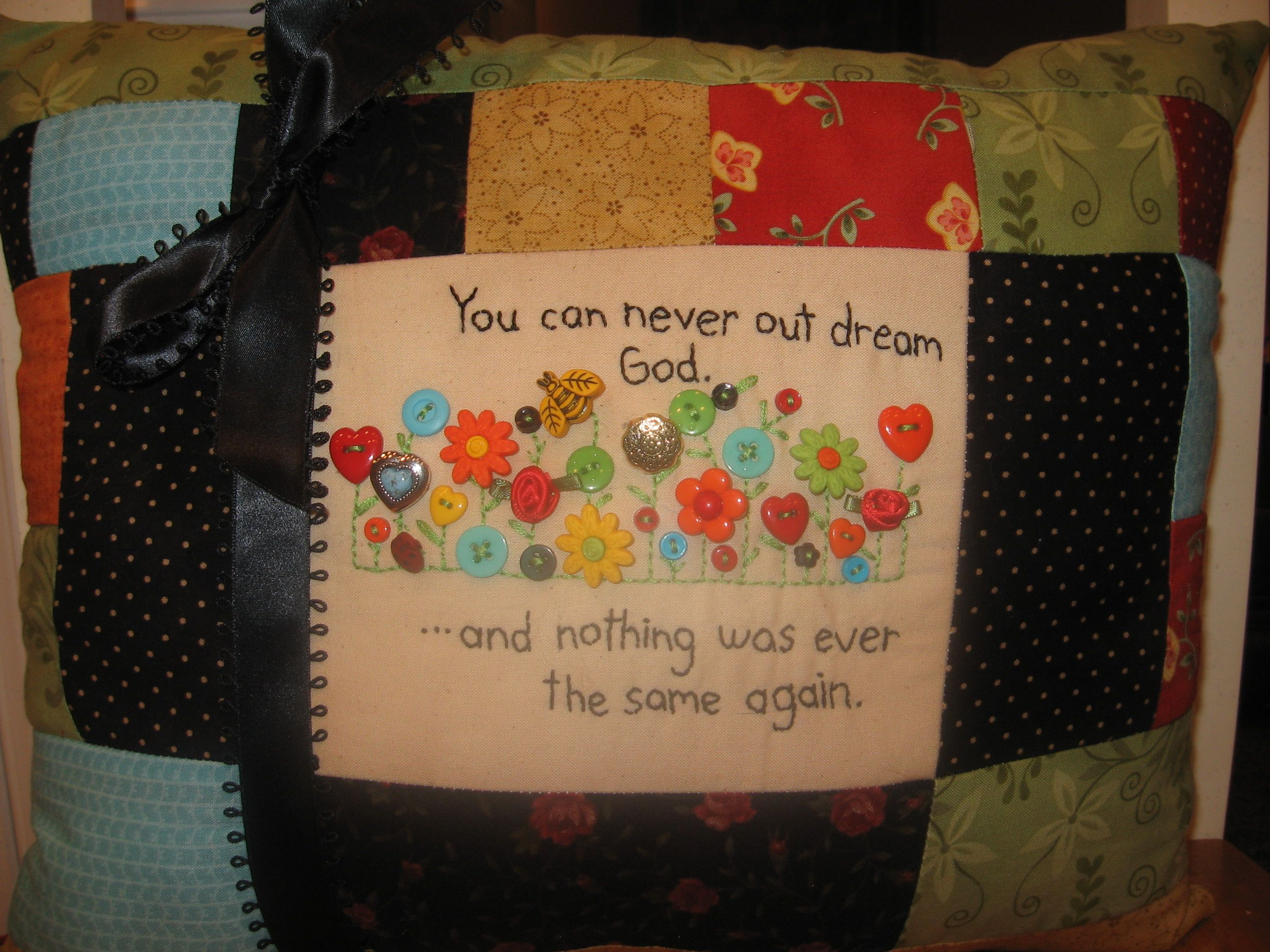 You Can Never Outdream God
