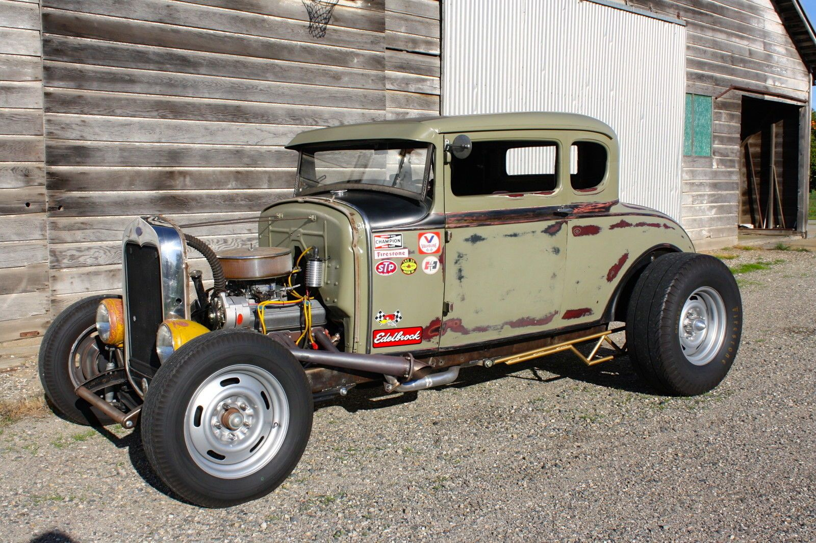 Ford : Model A Coupe, Hot Rod, Daily Driver, V8, TEST DRIVE VIDEO ...