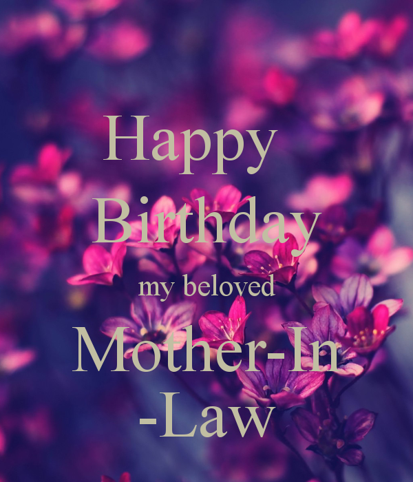 Happy Birthday Mother In Law Google Search Verjaardag