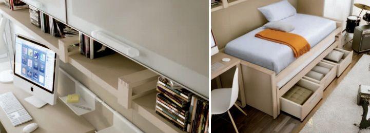 Teen roomattractive desk bed storage themed teen rooms for artist dancer rockstar and scientist
