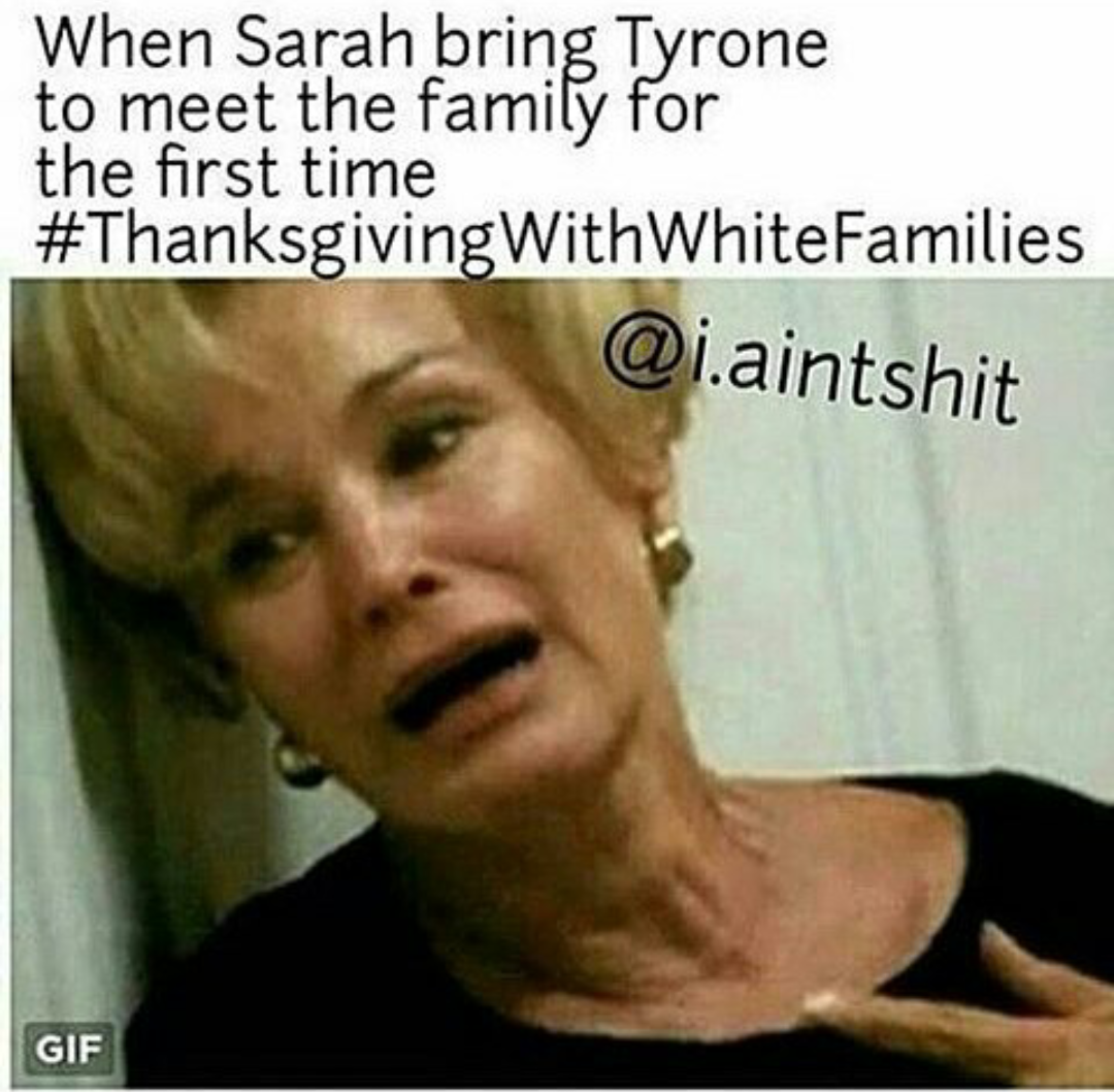 7927ad8873ac45009aad8e0a9d793701 oh man black twitter is absolutely on fire with these thanksgiving