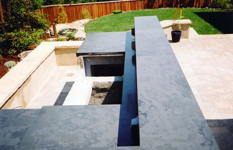 Slate Countertops For Your Bathroom And Kitchen Countertops Slate And Corian