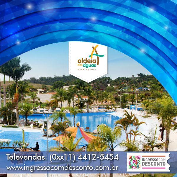 Situado em Barra do Piraí, a cerca de 120 km da cidade do Rio de Janeiro, o Aldeia das Águas Park Resort tem atrações para toda a família o ano inteiro! O resort possui um lindo complexo de piscinas, Piscina de Ondas, Rio Corrente, Complexo Esportivo, Spa e o Kid's Place. O Aldeia das Águas também possui atrações para quem adora adrenalina:paredão de escalada ou Kilimanjaro, o maior toboágua do mundo, com 49,9 m. Compre agora: www.ingressocomdesconto.com.br Televendas:(0xx11) 4412-5454