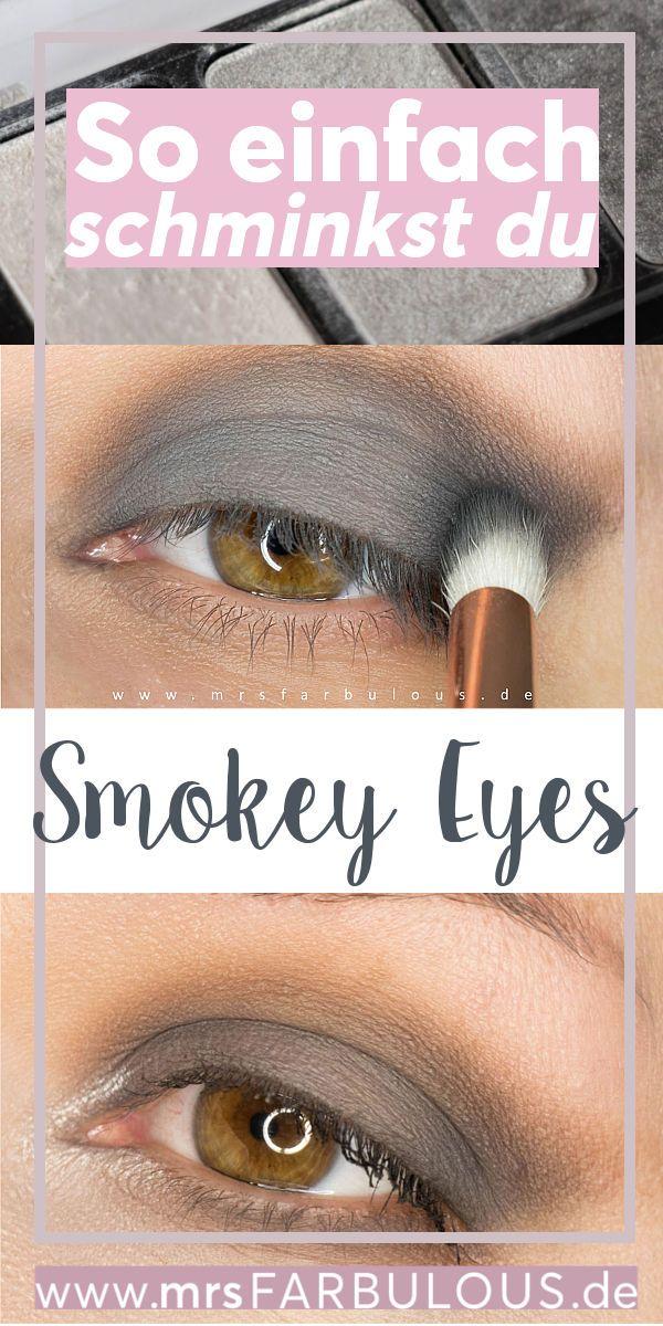 Photo of Einfache Smokey Eyes schminken Anleitung mit Bildern