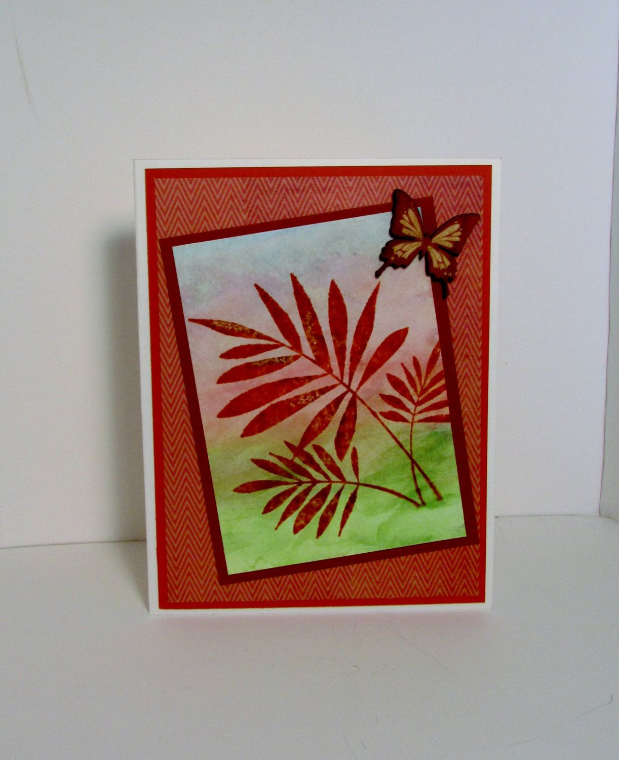 Any occasion card blank note card birthday card just because