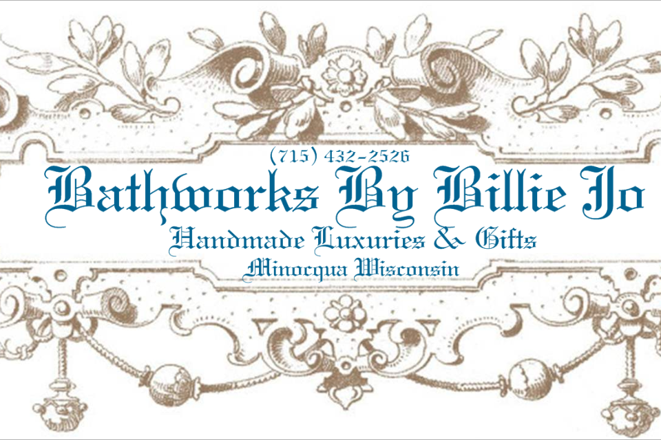 Bathworks By Billie Jo- Great handmade soap, candles,and other gifts :)